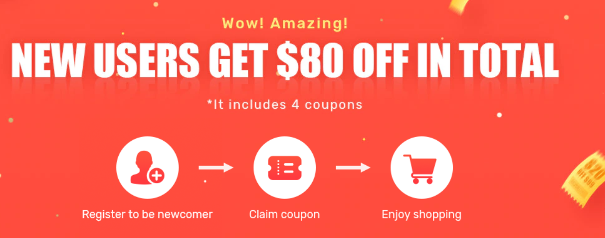 Rosegal 70% Off $80 Newcomer Coupon